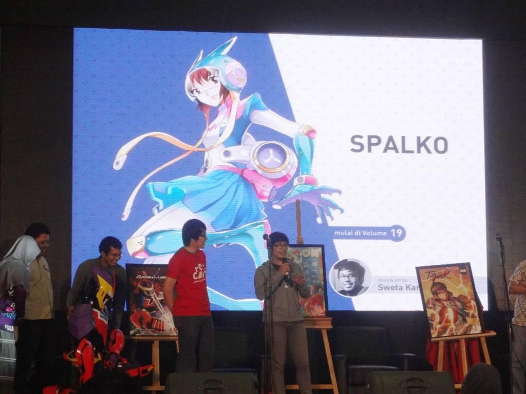 Sweta Kartika presenting Spalko