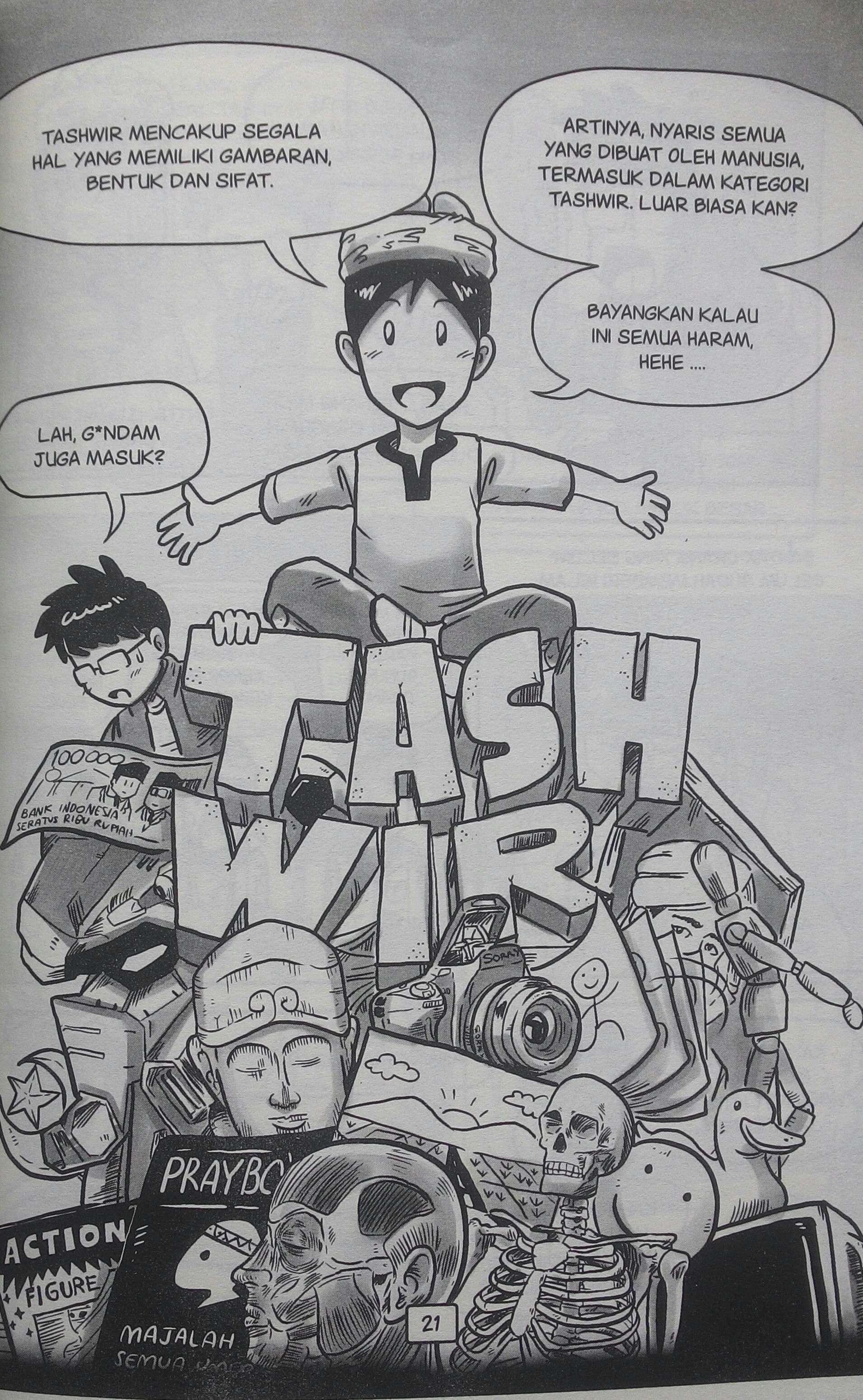 Ulasan Buku Gambar Itu Haram Menelaah Hukum Gambar Dalam Islam Kaori Nusantara