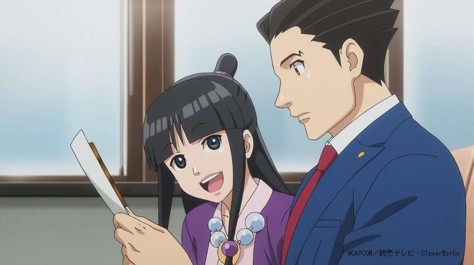 Fall 2018 Anime Phoenix Wright Ace Attorney Season 2 The