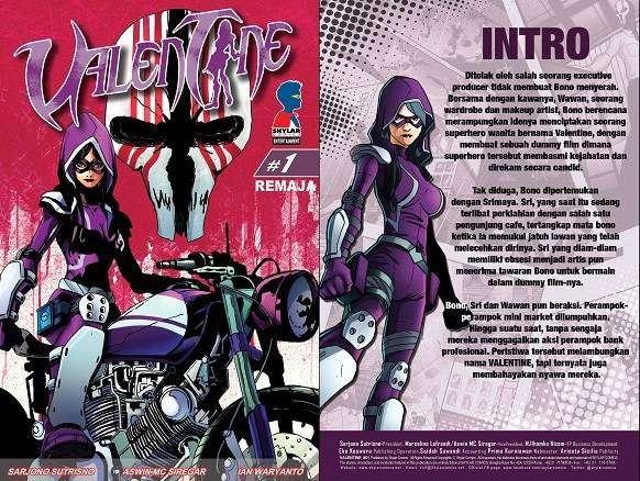 Valentine Superhero Wanita Indonesia