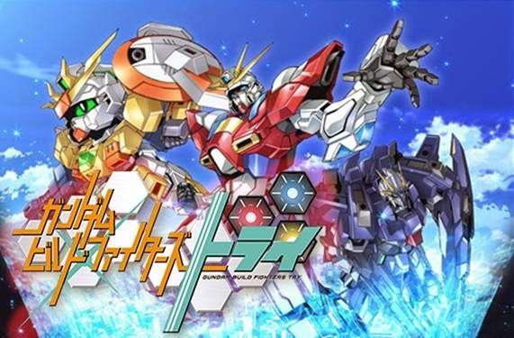 Ulasan Anime: Gundam Build Fighters Try