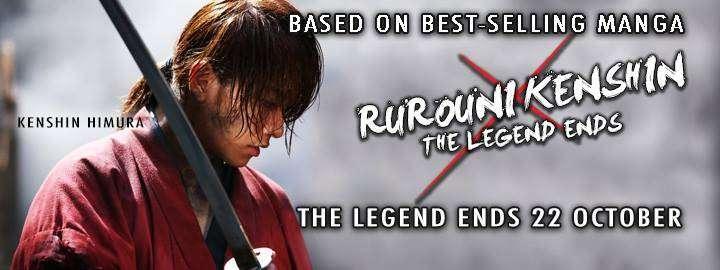 Ulasan Film : Rurouni Kenshin – The Legend Ends