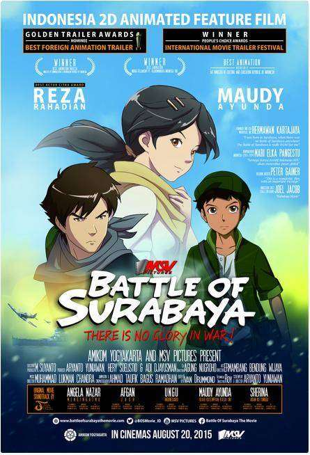 poster battle of surabaya