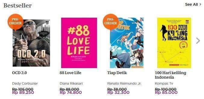 Komik Indonesia Best Seller di negeri sendiri, ngalahin komik Jepang!