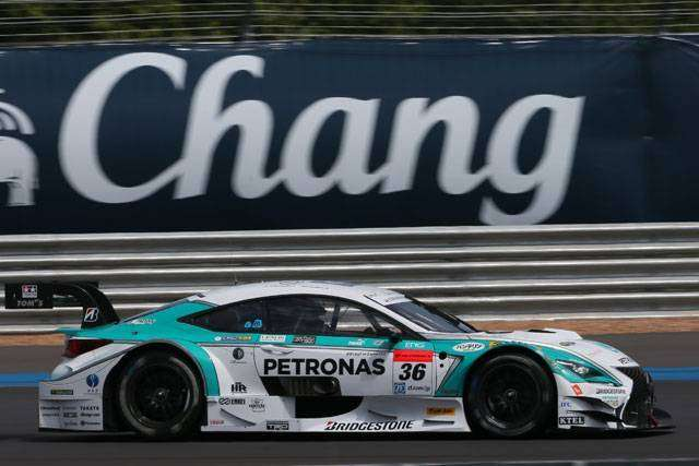 PETRONAS TOM'S RC F #36 (sumber: Takashi Ogasawara @ as-web.jp)