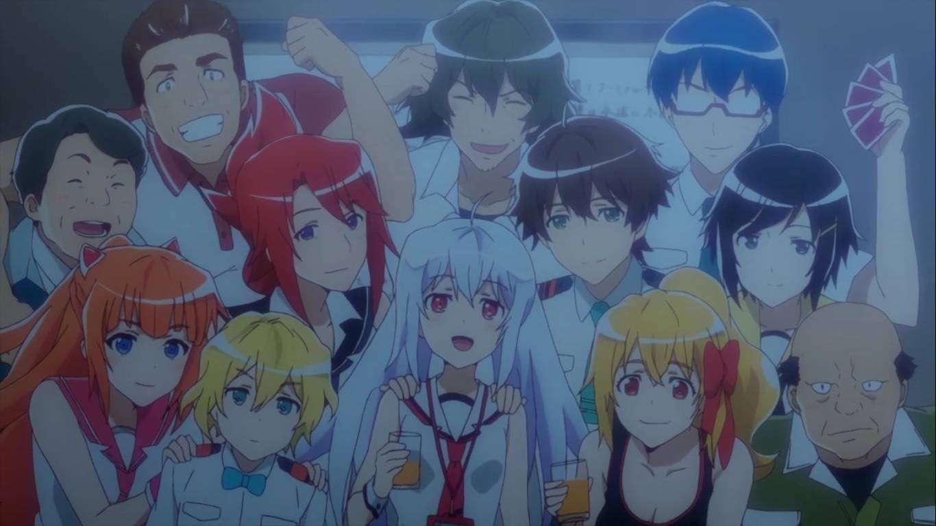 Meski Sempat Dicap Sebagai Anime Cengeng Musim Ini Namun Plastic Memories Tidak Hanya Mampu Mengangkat Kisah Drama Yang Ada Tapi Juga Dapat Menyajikan