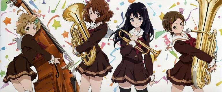 Anime Review Hibike Euphonium