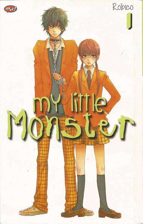 Sampul buku My Little Monster terbitan m&c
