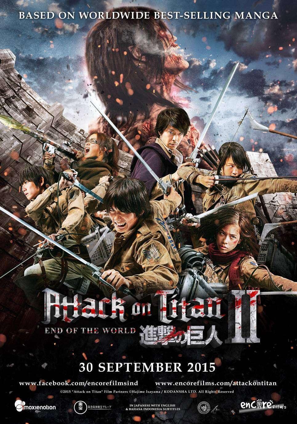Ulasan Film Attack On Titan Part 2