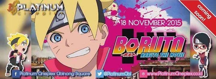 Boruto: Naruto the Movie Hadir Bulan November di Cibinong