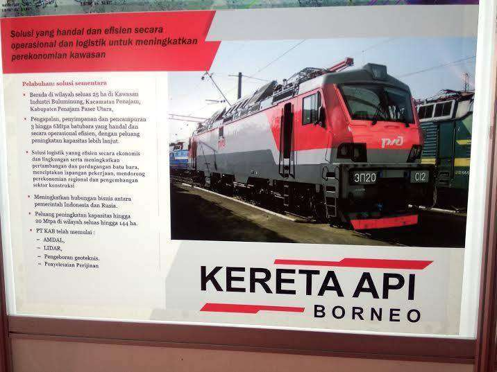 Informasi mengenai Kereta Api Borneo | sumber: detik.com
