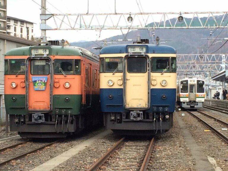 KRL Seri 115 yang akan digunakan untuk perjalanan terakhir | Foto Oleh: Satou Hiroki