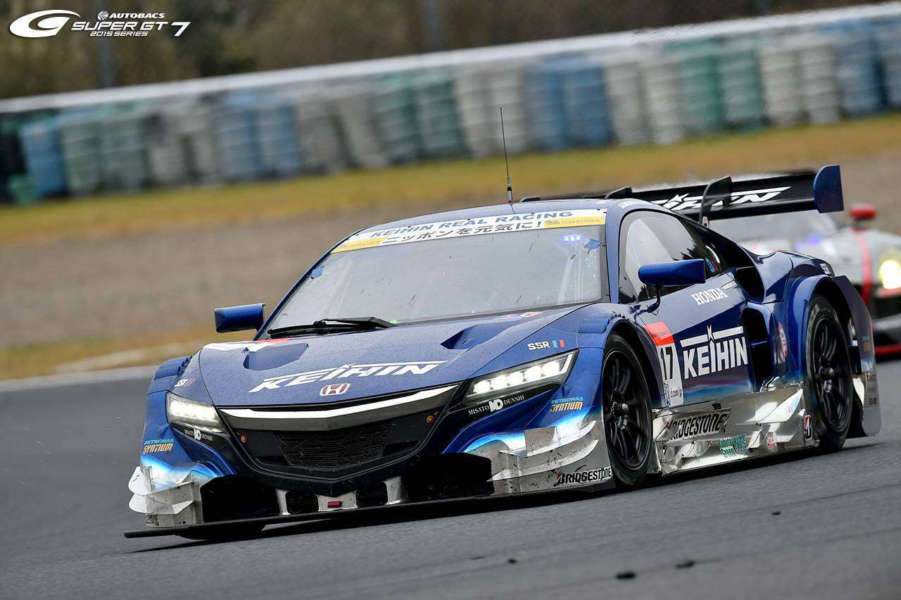 KEIHIN NSX CONCEPT-GT # yang berhasil finish di posisi ketiga