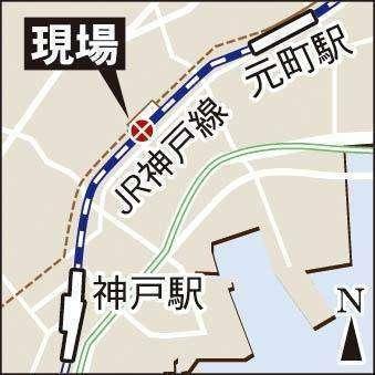 Lokasi Terjadinya Kawat LAA yang putus | Sumber Foto: Kobe Shimbun