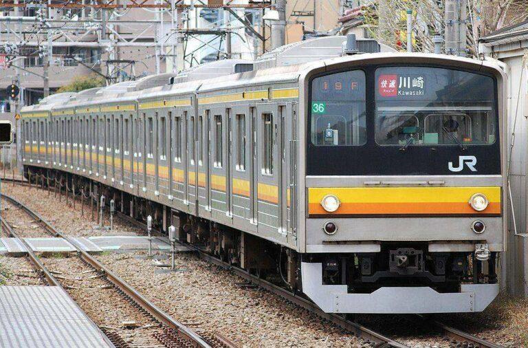 KRL seri 205-0 milik JR East Jalur Nambu | Sumber: en.wikipedia.org