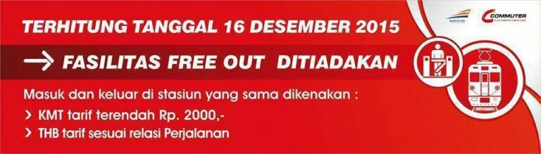 Free Out dihapus per 16 Desember 2015