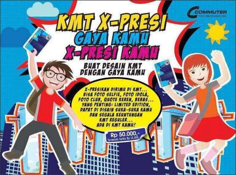 Event KMT (Kartu Multitrip) X-Presi | Sumber: Commuter Line (Facebook)