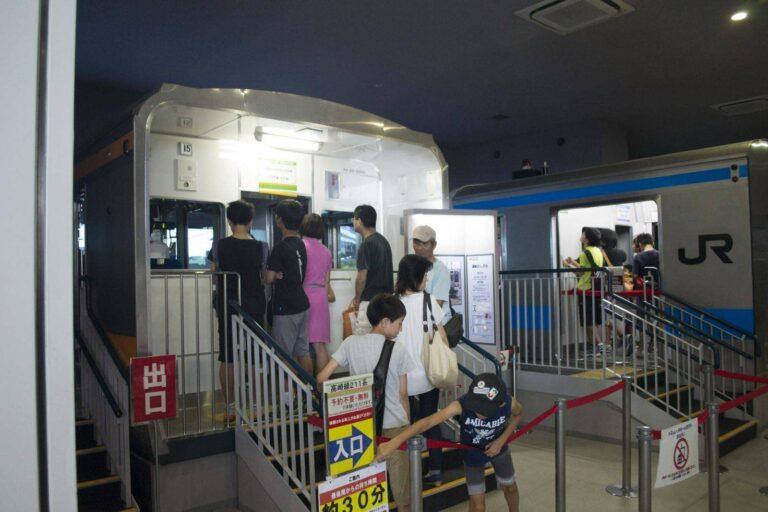 Simulator KRL di museum kereta api