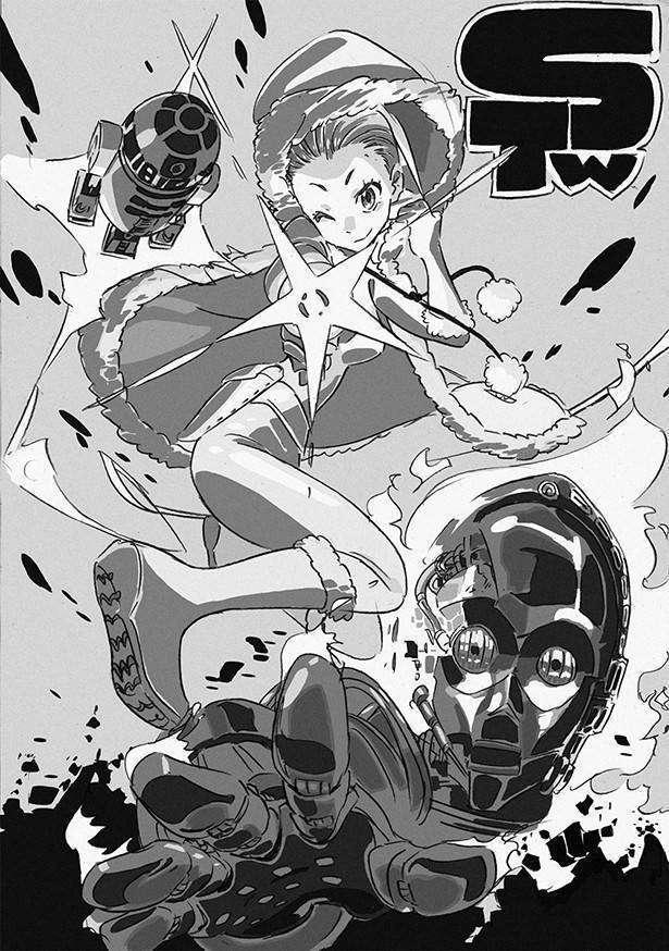 Karya Sushio, desainer karakter dari Kill La Kill