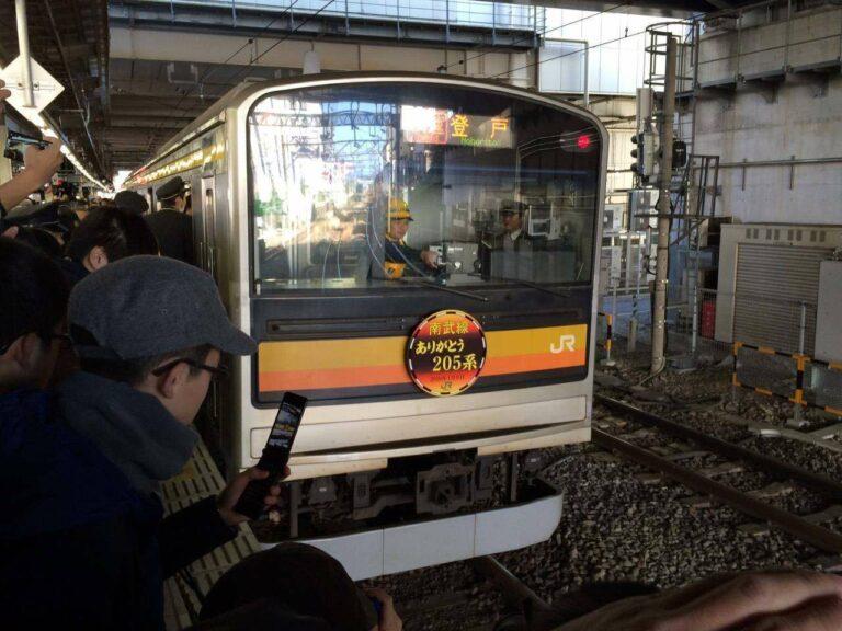 Banyak Railfans yang menyempatkan hadir di acara ini   Foto: Satou Hiroki