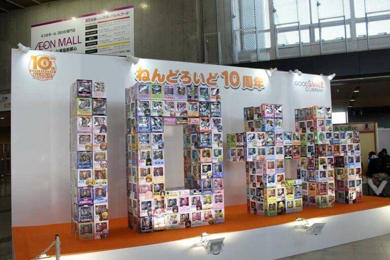 Merayakan ulang tahun ke-10 lini figur Nendoroid dari GoodSmile Company.
