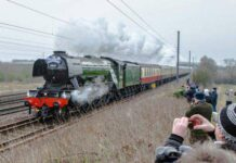 Motret Flying Scotsman