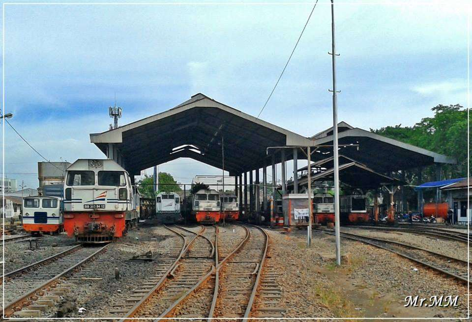 Lokomotif DH yang masih beroperasi di Divisi Regional 1 Sumatera Utara