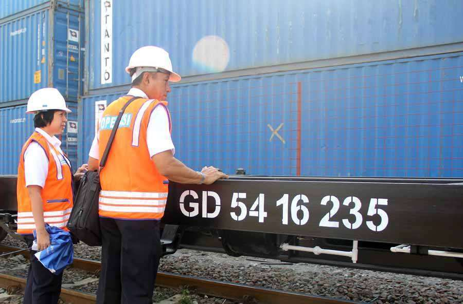 Sarana baru untuk KA Barang, GD 54 ton | Foto: Kereta Api Kita