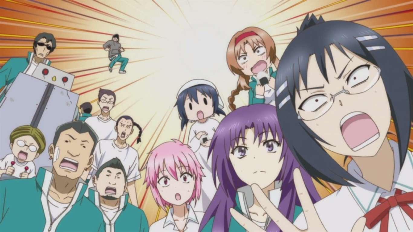 Rekomendasi Anime D Fragments D Frag KAORI Nusantara