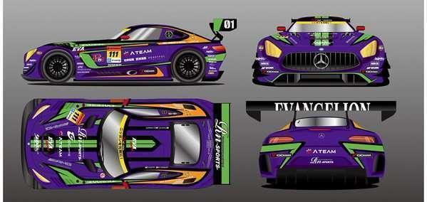 Konsep livery Eva Racing 2016 yang akan digunakan oleh tim Rn-Sports.