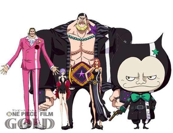 Inilah Karakter Karakter Baru Di One Piece Film Gold Kaori
