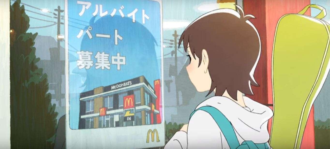 McDonalds Jepang Luncurkan Iklan Berbentuk Anime