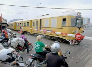 Kamboja Operasikan Kembali Layanan Kereta Api