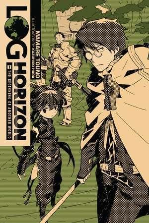 Cover dari volume 1 Log Horizon -  Copyright Yen Press