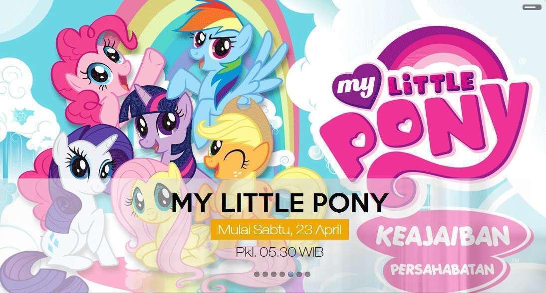 Wah My Little Pony Akan Tayang Di Global Tv Kaori Nusantara