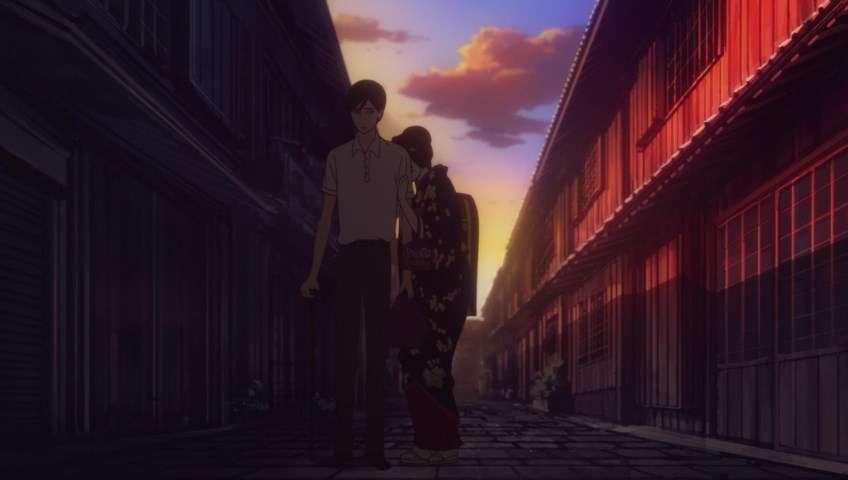 """""""Tense"""" dalam hubungan Kikuhiko dan Miyokichi."""