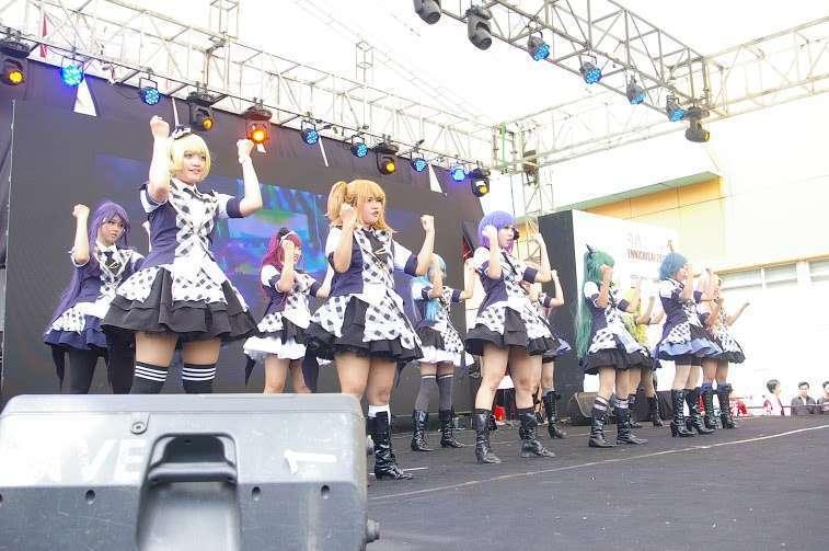 Foto kiriman pihak Ennichisai 2016