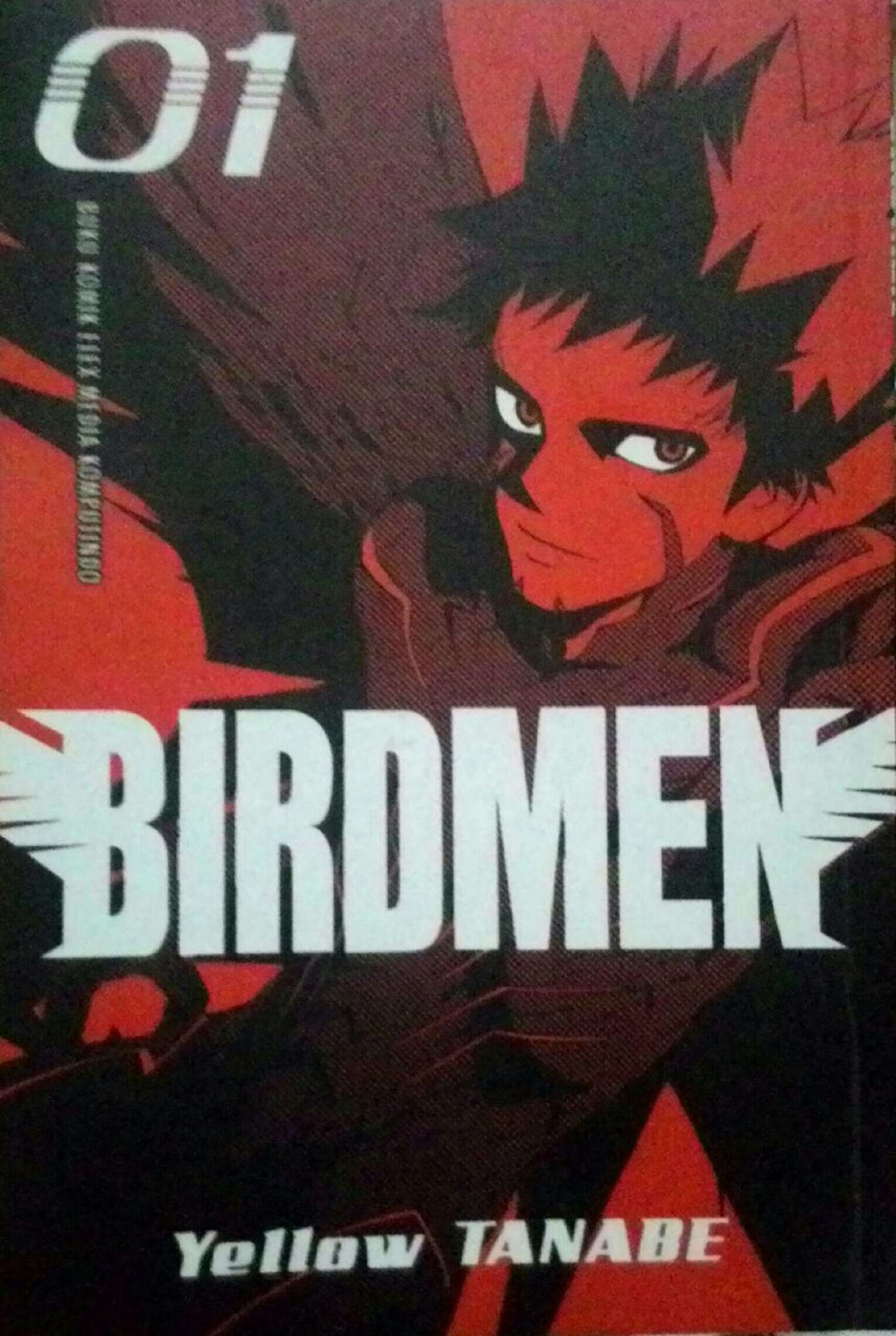 Sampul komik Birdmen Vol. 1 terbitan Elex Media