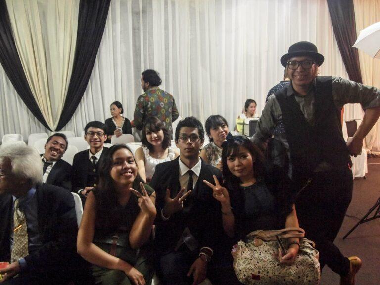 Perwakilan Indonesia untuk WCS dan WKG tahun ini juga hadir.