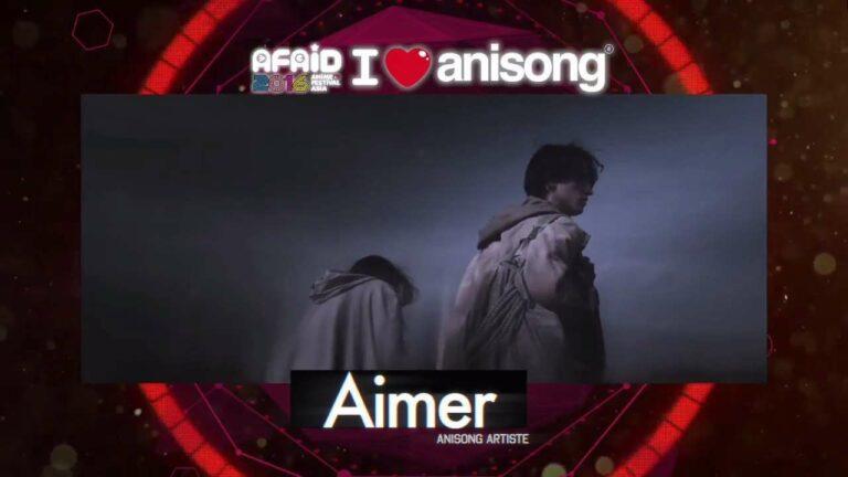 Aimer merupakan grup band yang pernah menyanyikan lagu untuk seri anime Fate/Stay Night - Unlimited Blade Works
