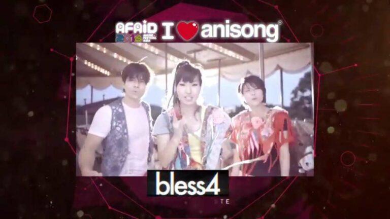 bless4, pernah berkolaborasi dengan Akino dalam lagu pembuka anime Kantai Collection