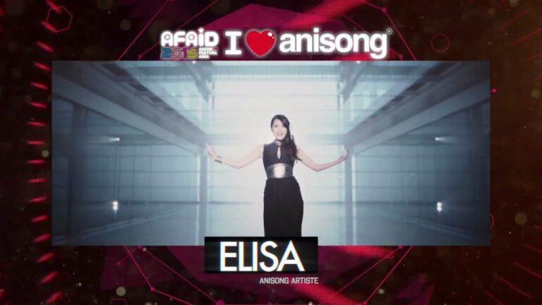 Elisa adalah penyanyi yang pernah menyanyi untuk film Rakuen Tsuiho