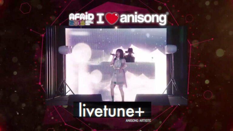 Livetune+ merupakan grup musik yang terbentuk sejak tahun 2007, ini adalah kali pertamanya ke Indonesia. Mereka pernah terlibat dalam seri anime Inari Konkon Koi Iroha, Isshukan Friends, dan pernah membuat lagu untuk grup ClariS.