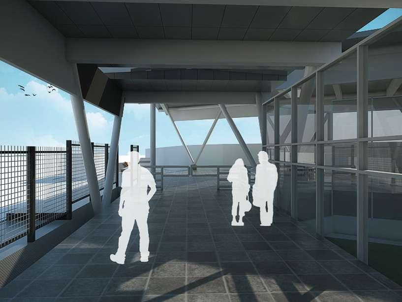 Desain stasiun Bogor Paledang