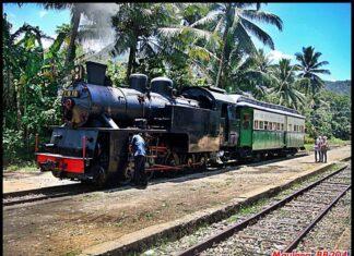 "Lokomotif Uap ""Mak Itam' tipe E10 60 | Foto: Maulana Nur Achsani"