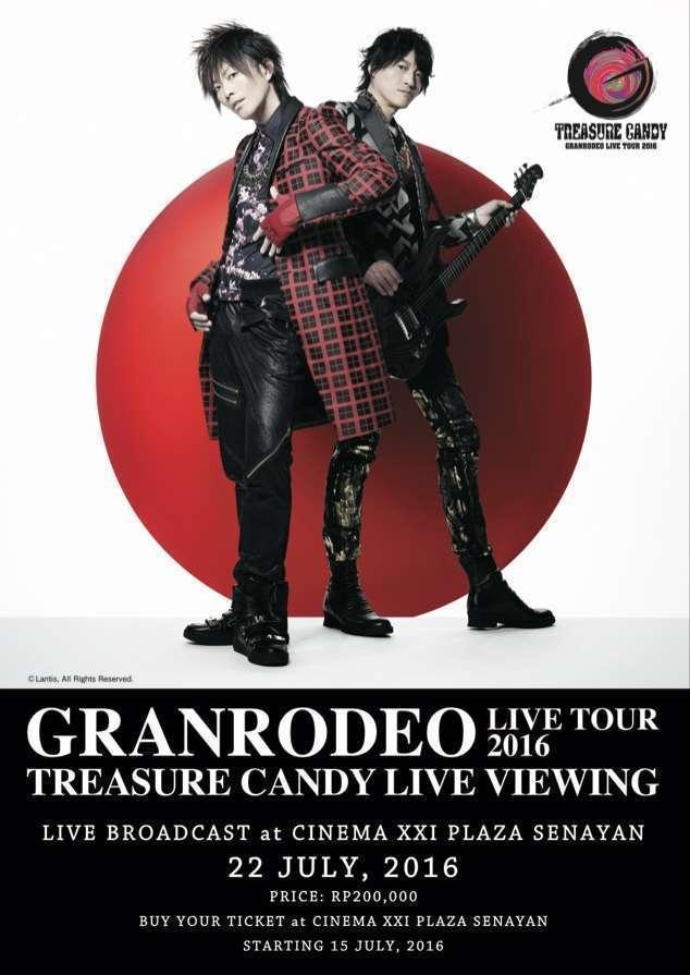 GRANRODEO poster