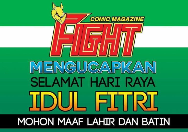 FIGHT comic magazine