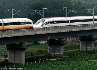 Kereta Cepat Tiongkok Kembali Catatkan Sejarah