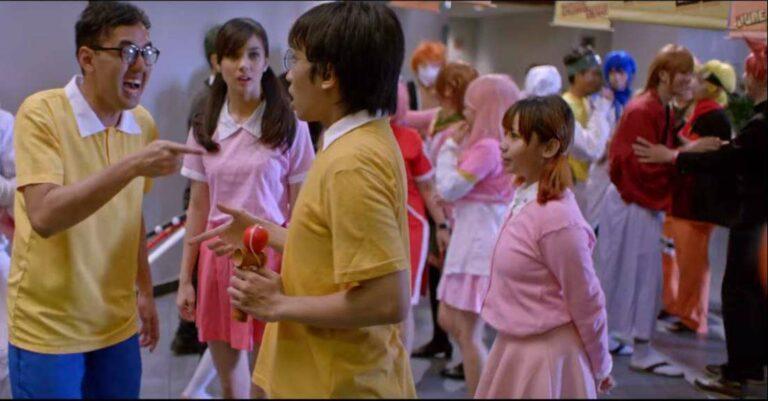 Abdullah v Takeshi Movie Shooting
