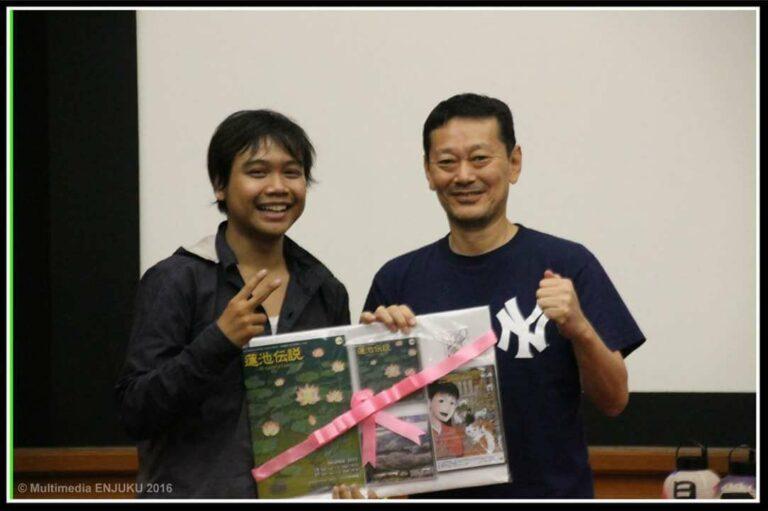 Favorite Actor _ Runner Up Best Team from Embassy of Japan in Enjuku Event